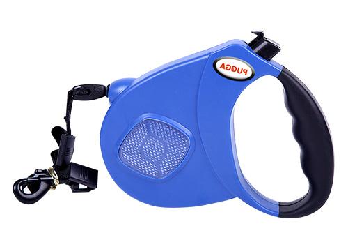 Dog retractable leash small and large custom leash print logo hand free
