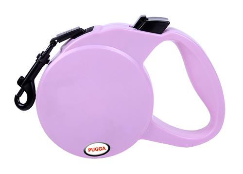 Fashion Customized Logo Heavy Duty Nylon Large Retractable Metal Dog Leash