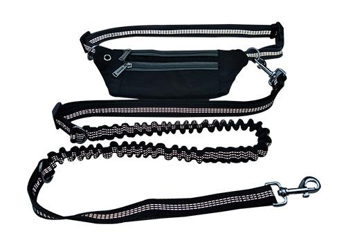 New retractable waist bag Belt bag running traction rope