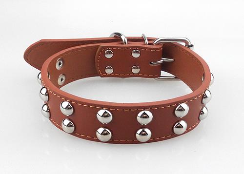 Medium and large pet rivet collar GG2003L