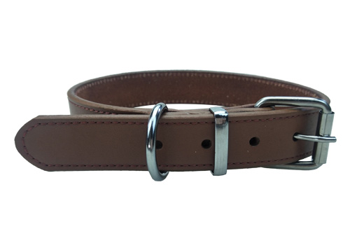 Pet Supplies Adjustable Custom Soft and Durable Dog collar leather