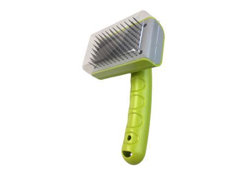 Pet Products Cleaning Slicker Brush Pet Grooming Brush For Short And Long Hair Dogs Cats