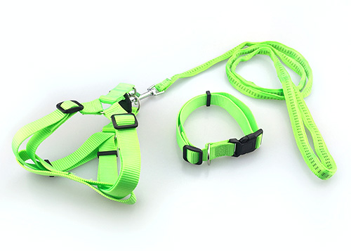 Dog Leash Dog Chain Teddy Golden Retriever Medium Small Dog Outdoor Adjustable Chest Vest Reflective Vest Pet Supplies